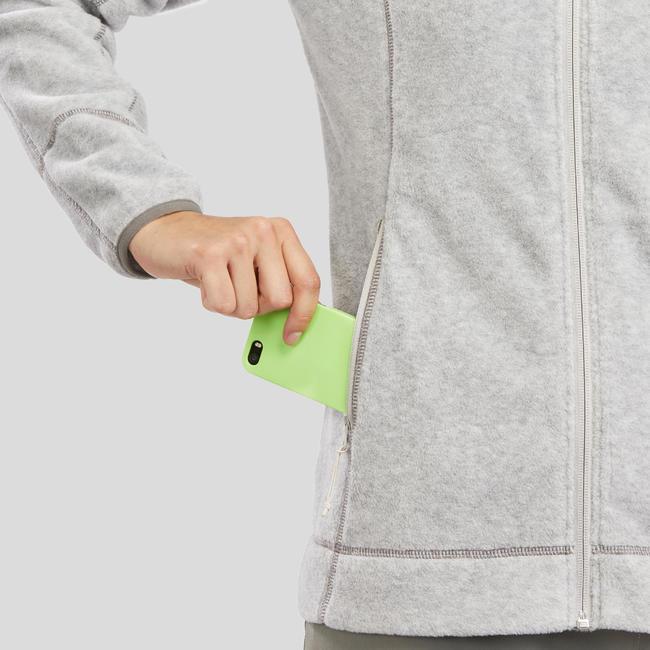Women's Fleece MH120 - Light Grey