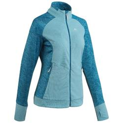 Women's Mountain Walking Fleece Jacket MH520 - Turquoise