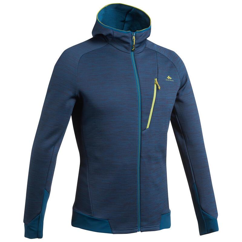 Fleece jas voor bergwandelen heren MH900