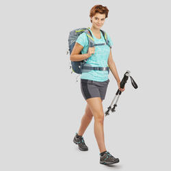 Short de randonnée montagne Femme MH100 Gris