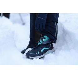 Winterschuhe Winterwandern SH920 X-Warm Halbhoch Damen blau