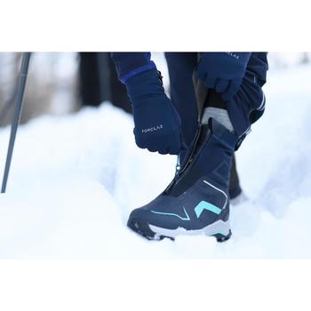 Snowboots SH920 X-warm mid blauw