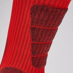 Chaussettes de football courtes adulte CLR MiD rouge