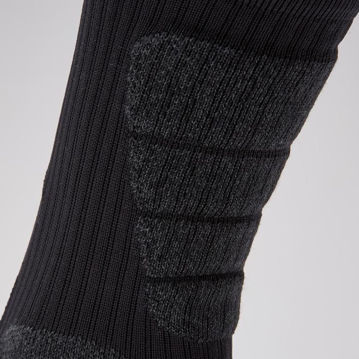 Chaussettes de football courtes adulte CLR MiD noir