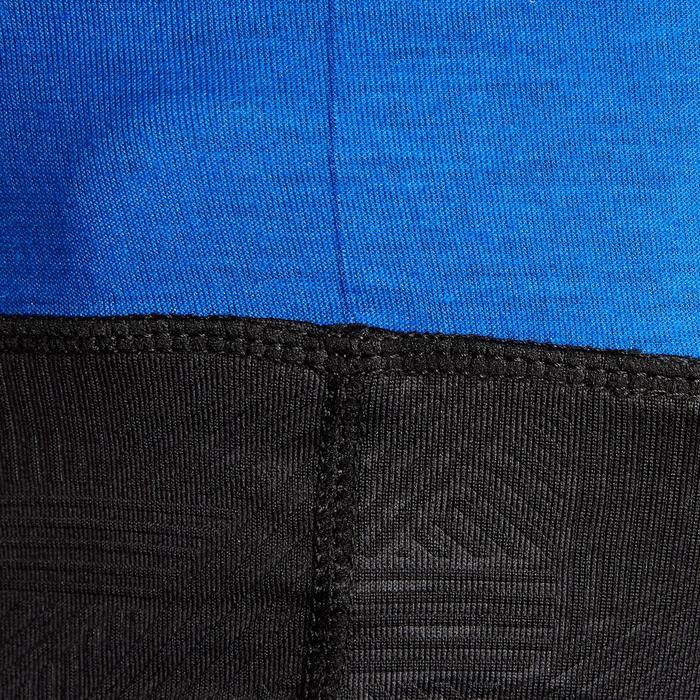 Nekwarmer voor voetbal Keepdry 500 indigoblauw