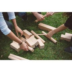 Kubb Holzkegelspiel Wikingerschach