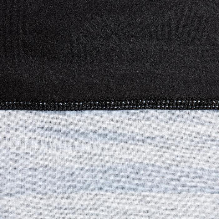 Nekwarmer kind Keepwarm 500 gemêleerd grijs