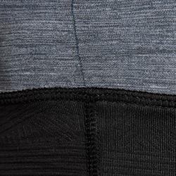 Nekwarmer voor voetbal Keepdry 500 grijs zwart
