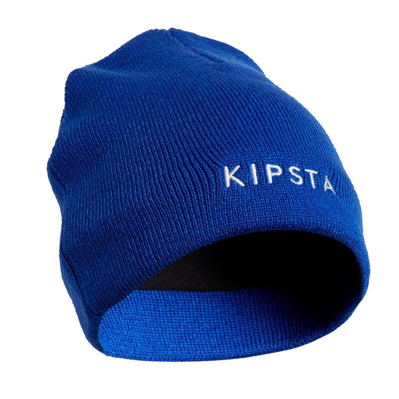 Gorro Fútbol Kipsta Keepwarm 100 niños azul