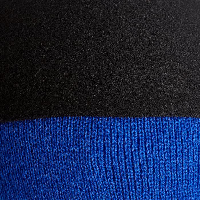 Muts voor kinderen Keepwarm blauw met fleecevoering