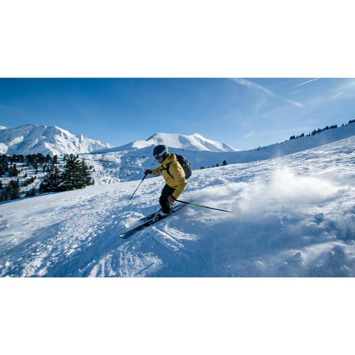 Veste de ski Freeride homme JKT SKI FR100 H Ocre