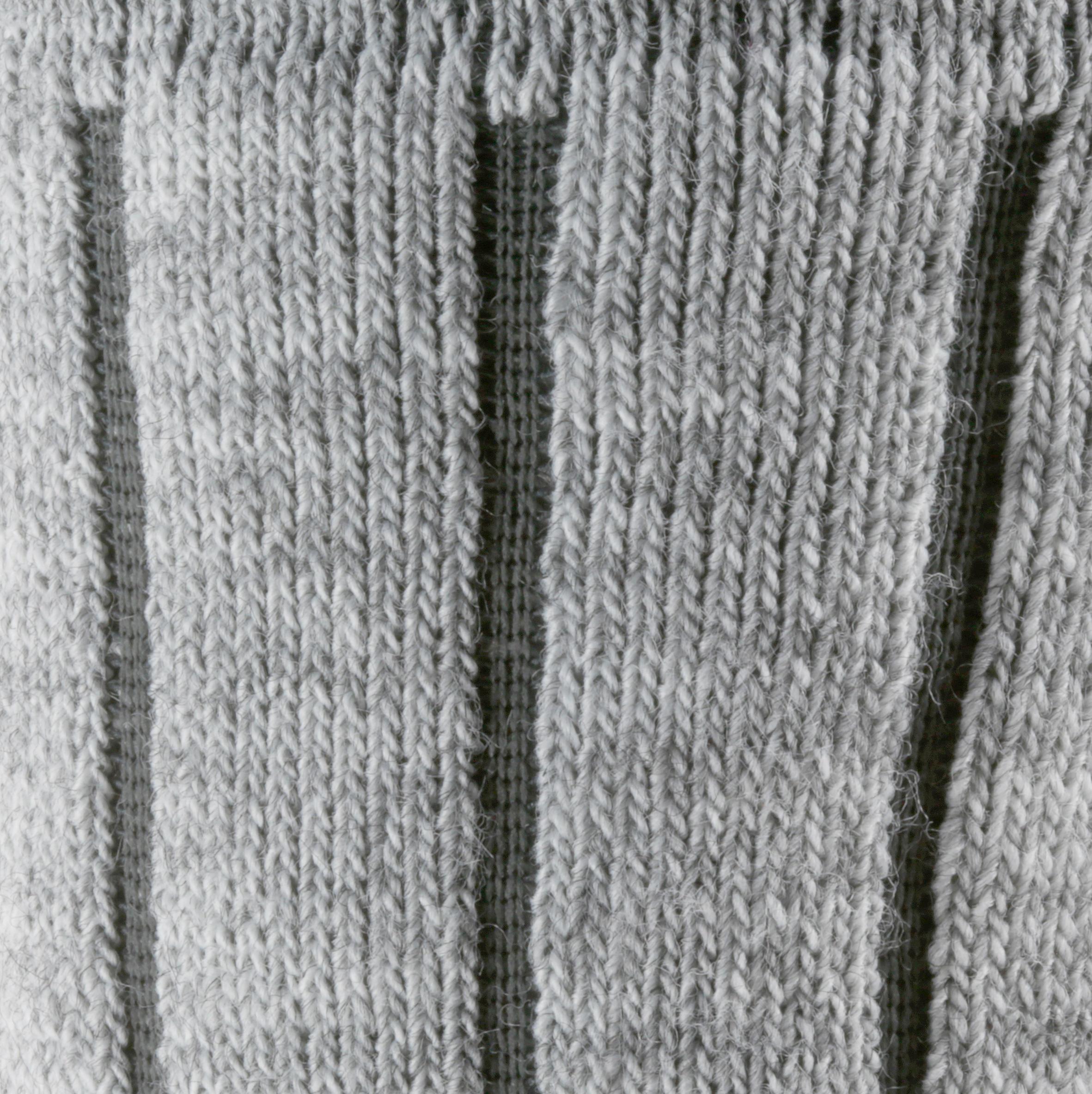 Snow Hiking SH100 Woolen Socks - Grey