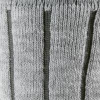 Calcetines de senderismo nieve adulto SH100 warm mid gris.