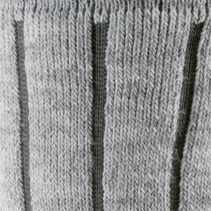 成人款保暖中筒健行襪SH100-灰色。