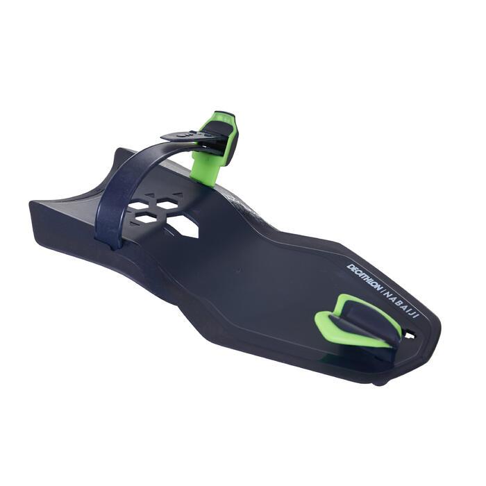 游泳矯正姿勢划手板Easystroke 500-藍綠色
