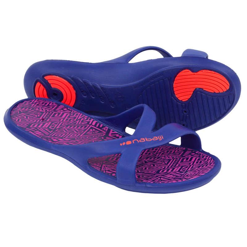 CIABATTE NUOTO Sport in piscina - Ciabatte nuoto donna SLAP 500 NABAIJI - Accessori e Materiale Nuoto