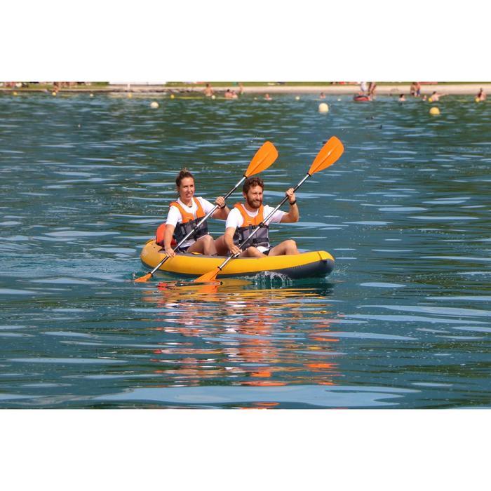 Kayak Canoa Hinchable de Travesía Itiwit Alta Presión DROP STITCH X100+ 2 Plazas