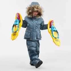 Wanderhose Winterwandern SH500 Ultra-Warm Kleinkinder 2–6 Jahre blau