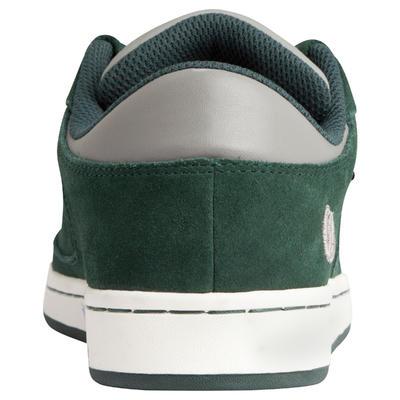 Chaussures basses de skateboard enfant CRUSH LOW vertes