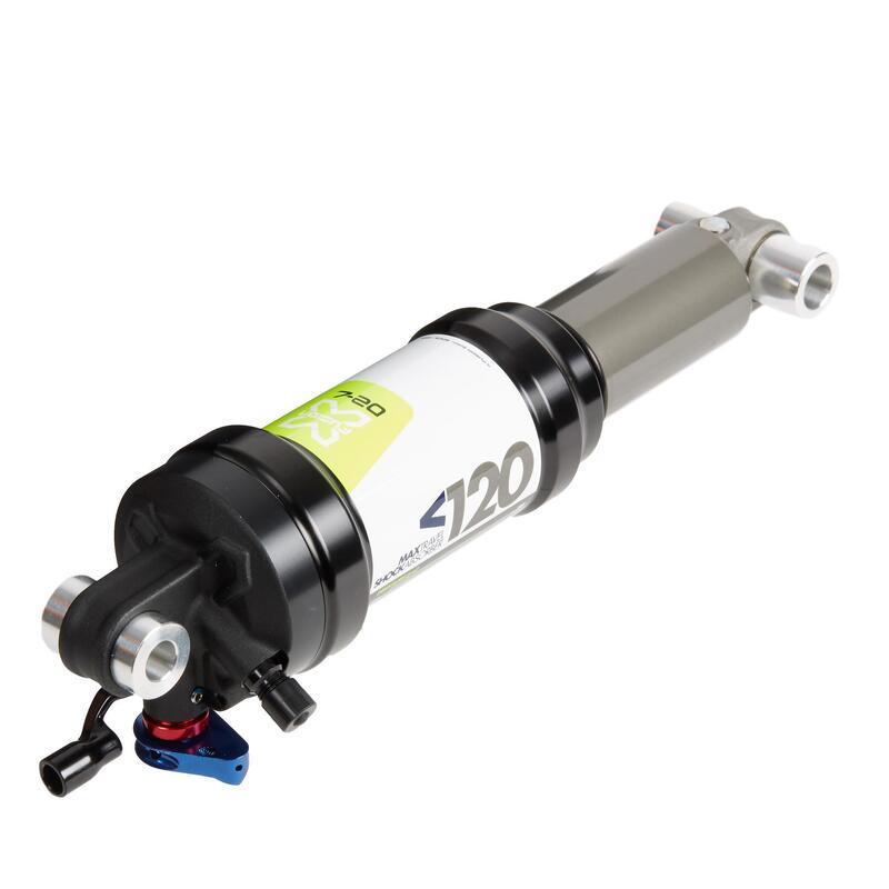 Ammortizzatore MTB O2 AIR LOCKOUT 190x51mm con distanziali 40x10mm / 25x8mm