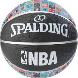 Basketbal NBA Spalding Team Collection 7 in de kleuren van alle teams van de NBA