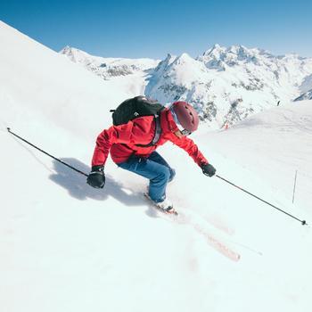 MASQUE DE SKI ET DE SNOWBOARD ENFANT ET ADULTE G 900 BEAU TEMPS NOIR