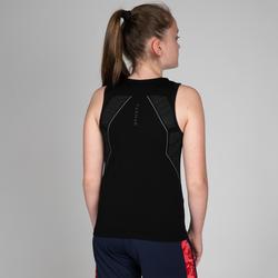 Camiseta térmica sin mangas Baloncesto Tarmak UT500 niños negro
