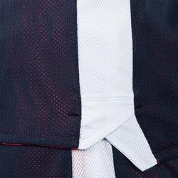 Camiseta Reversibe Baloncesto Tarmak T500R Niños Sin Mangas Rosa Azul