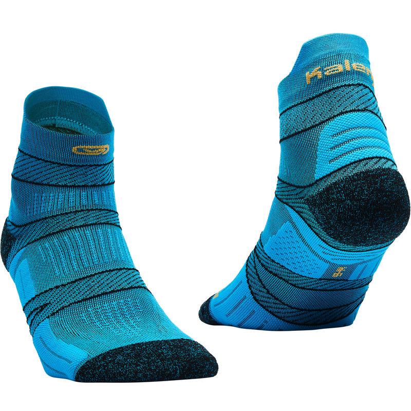 KIPRUN STRAP THIN SOCKS BLUE