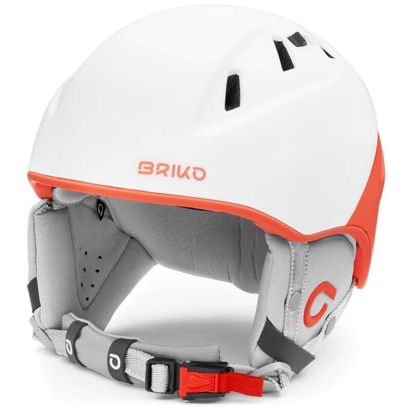 Caschi adulto Sci, Sport Invernali - Casco sci amak rosa bianco BRIKO - Attrezzatura sci