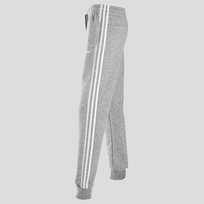 Pantalon de survêtement Adidas femme trois bandes gris