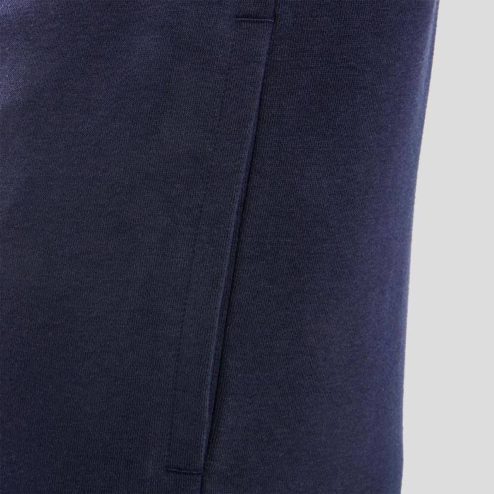 Kapuzenjacke Herren blau