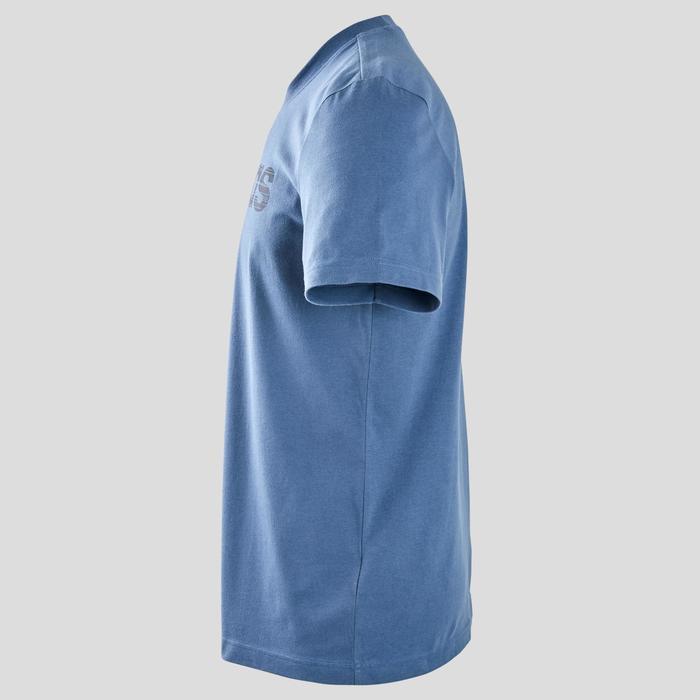 T-Shirt Regular Herren blau