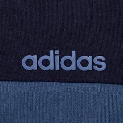 Veste de survêtement Adidas à capuche bleu homme