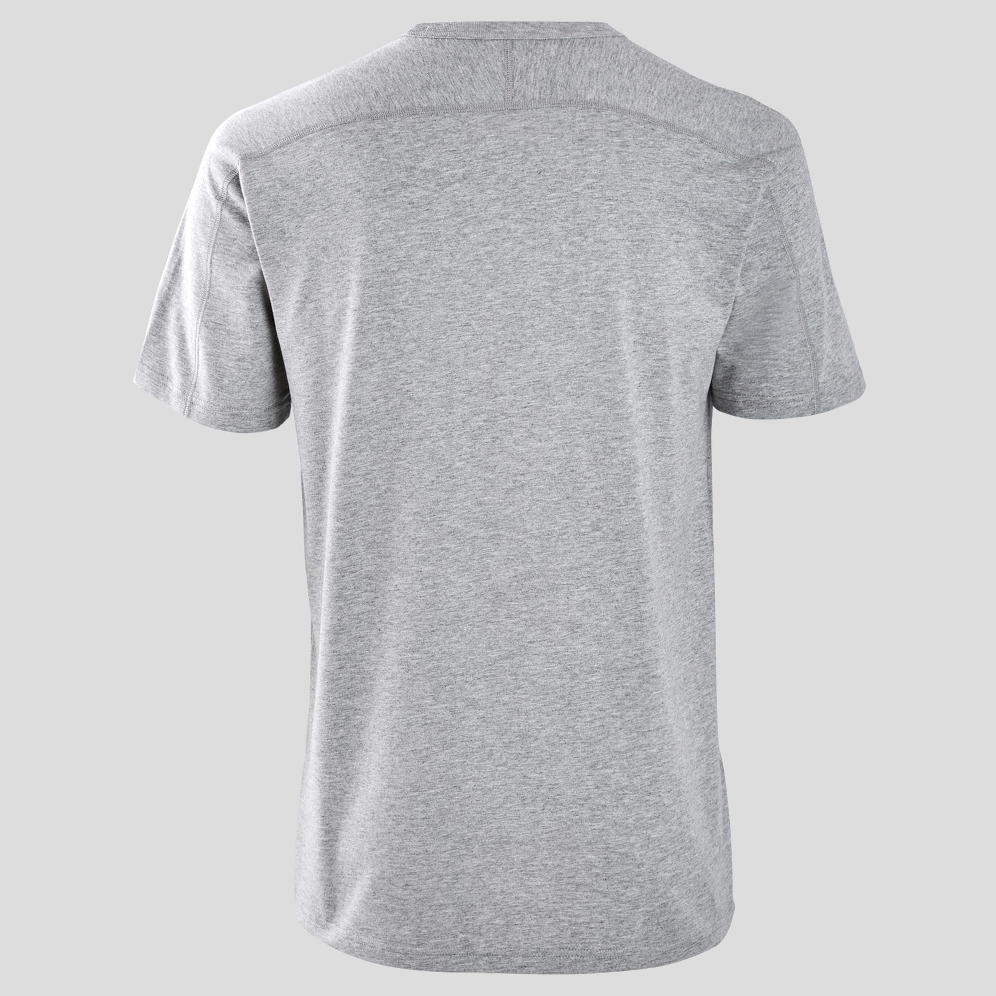 b540896c6 Regular Adidas Hombre Camiseta Gris Gimnasia Pilates Y Suave nk0wPNX8OZ