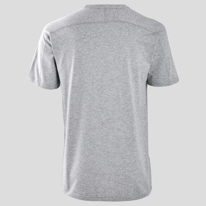 Heren T-shirt regular fit grijs