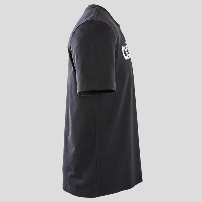 T-Shirt Adidas slim homme noir