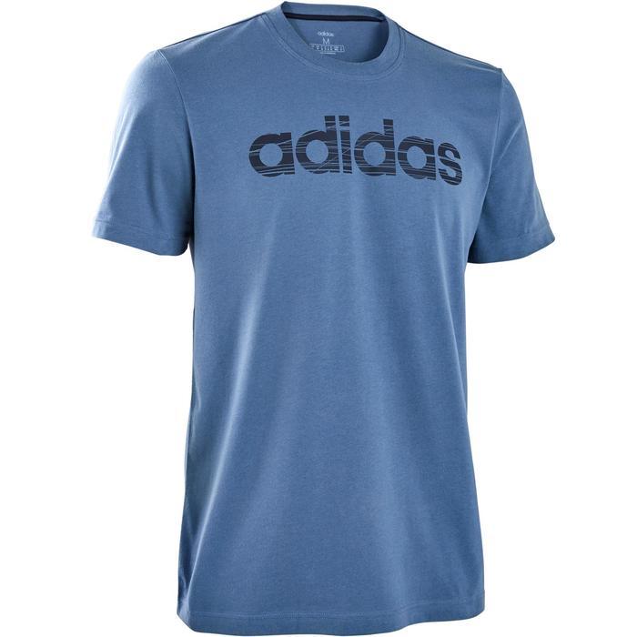 T-Shirt Adidas regular homme bleu