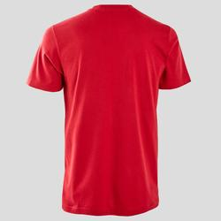 T-ShirtDecadio Regular Pilates sanfte Gymnastik Herren bordeaux