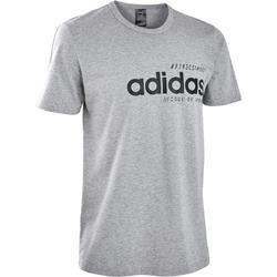 T-Shirt Adidas regular Pilates Gym douce homme gris