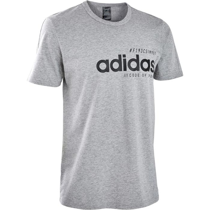 T-Shirt Regular Herren grau