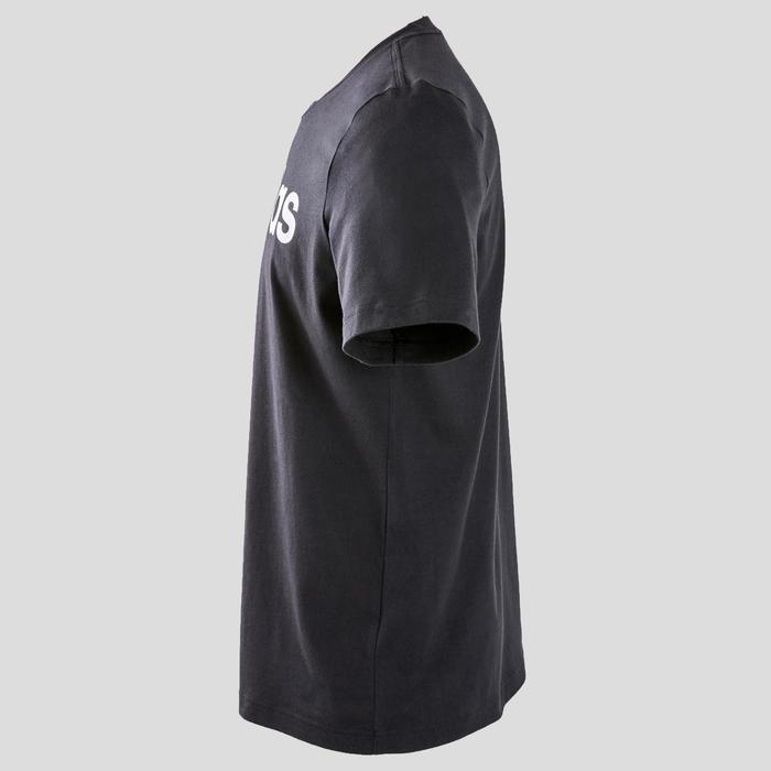 T-Shirt Adidas homme slim fit noir