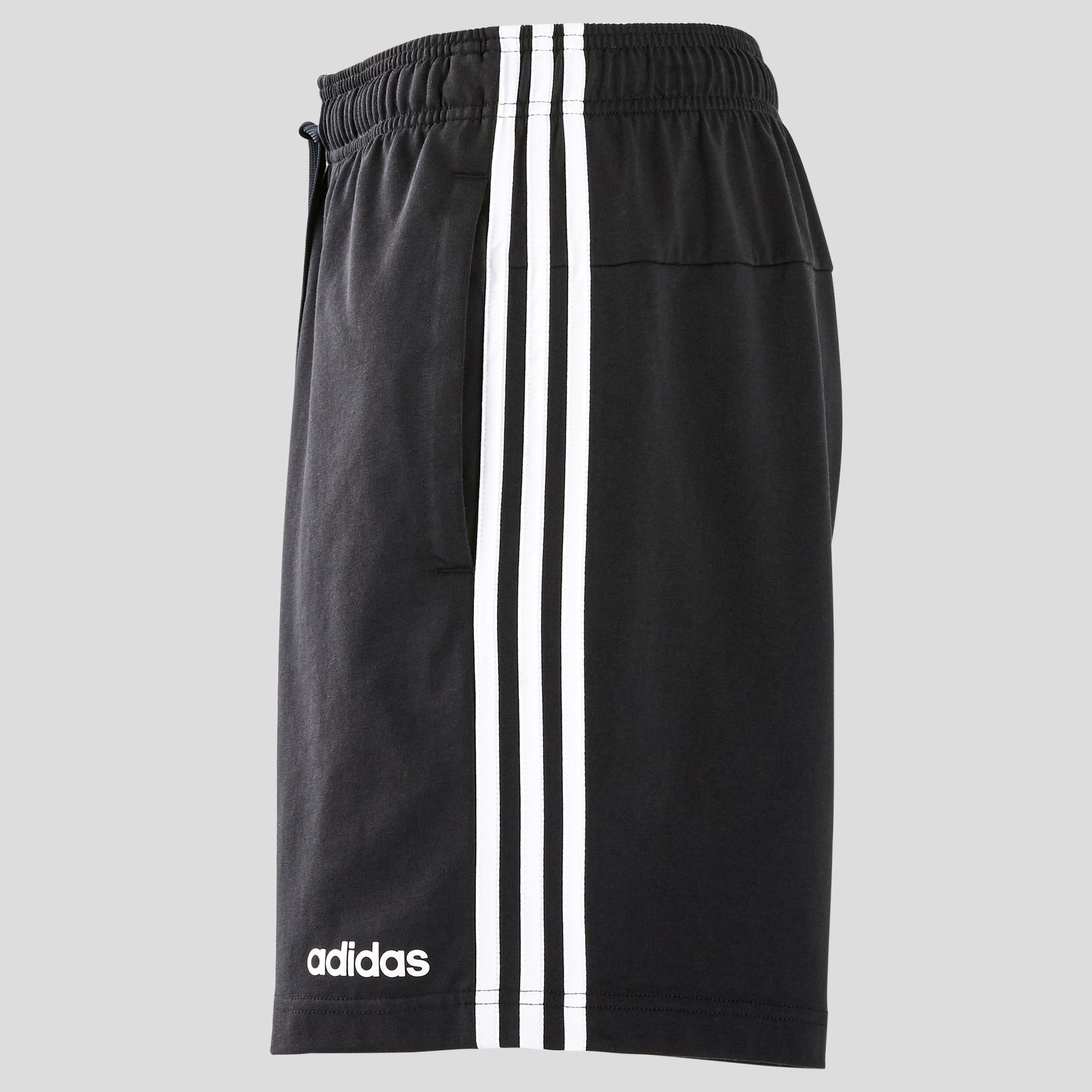 Short 3 bandes adidas regular noir homme adidas