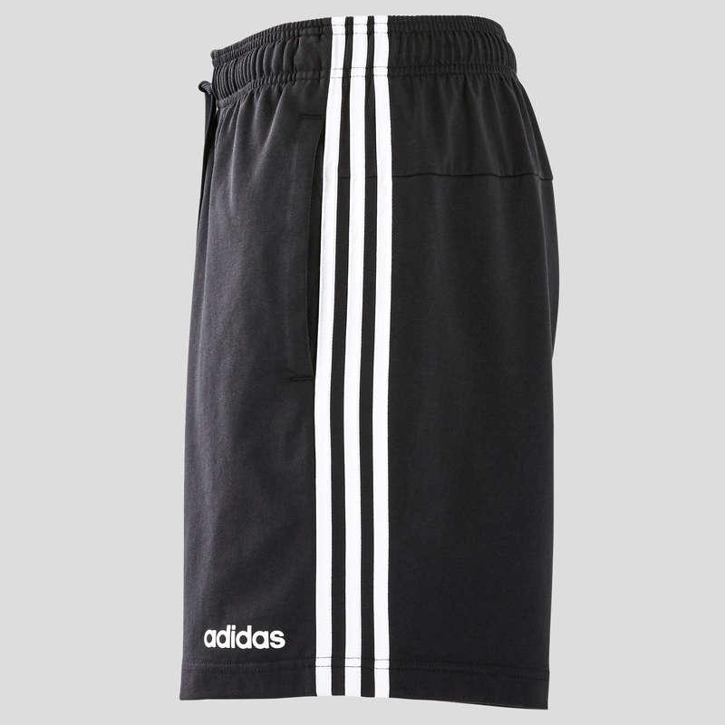 T-SHIRT E SHORT UOMO Ginnastica, Pilates - Pantaloncini uomo gym neri ADIDAS - Abbigliamento uomo