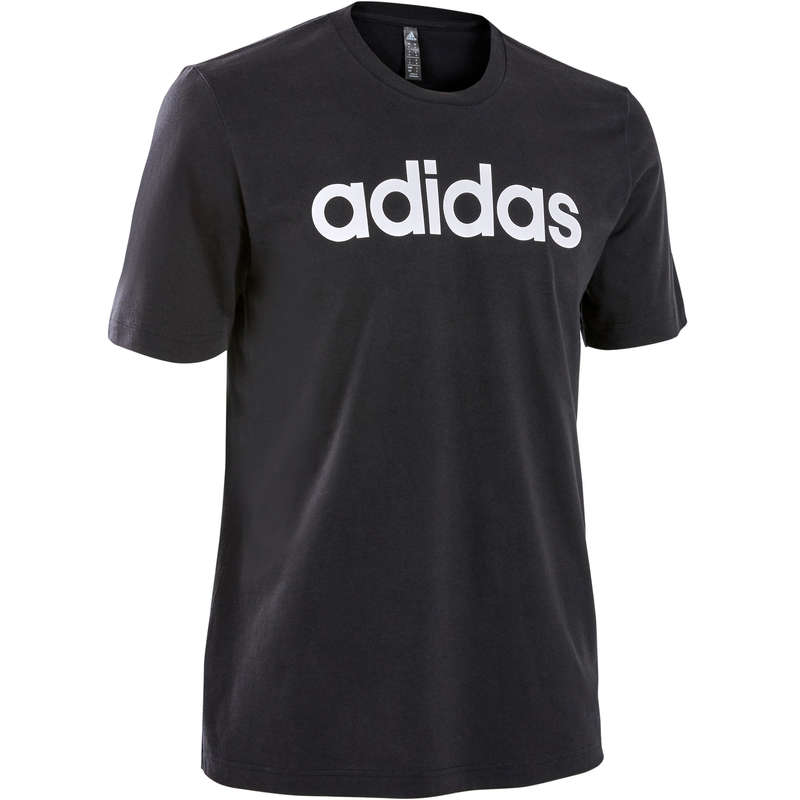 MAN GYM, PILATES APPAREL Clothing - Linear Regular Gym T-Shirt ADIDAS - Tops