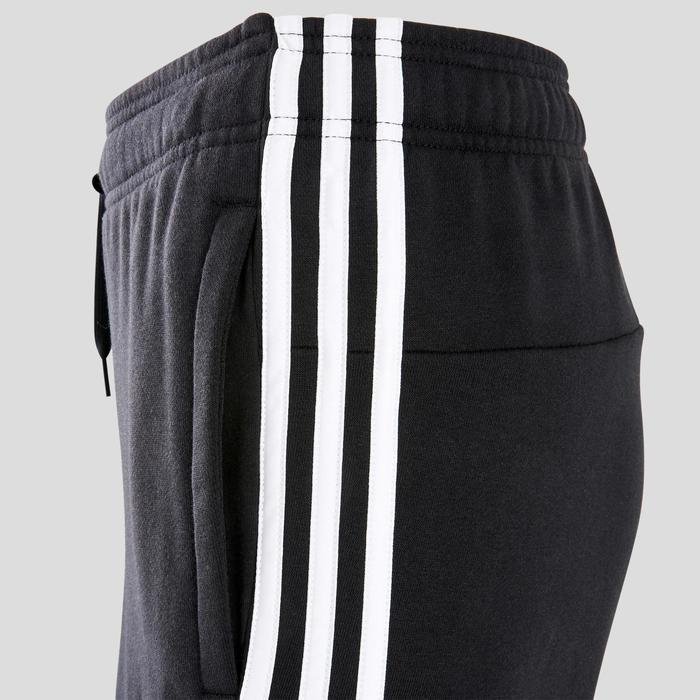 Pantalon Adidas 3 bandes regular noir homme
