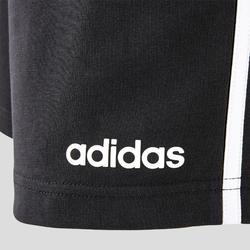 Short 3 bandes Adidas regular noir homme
