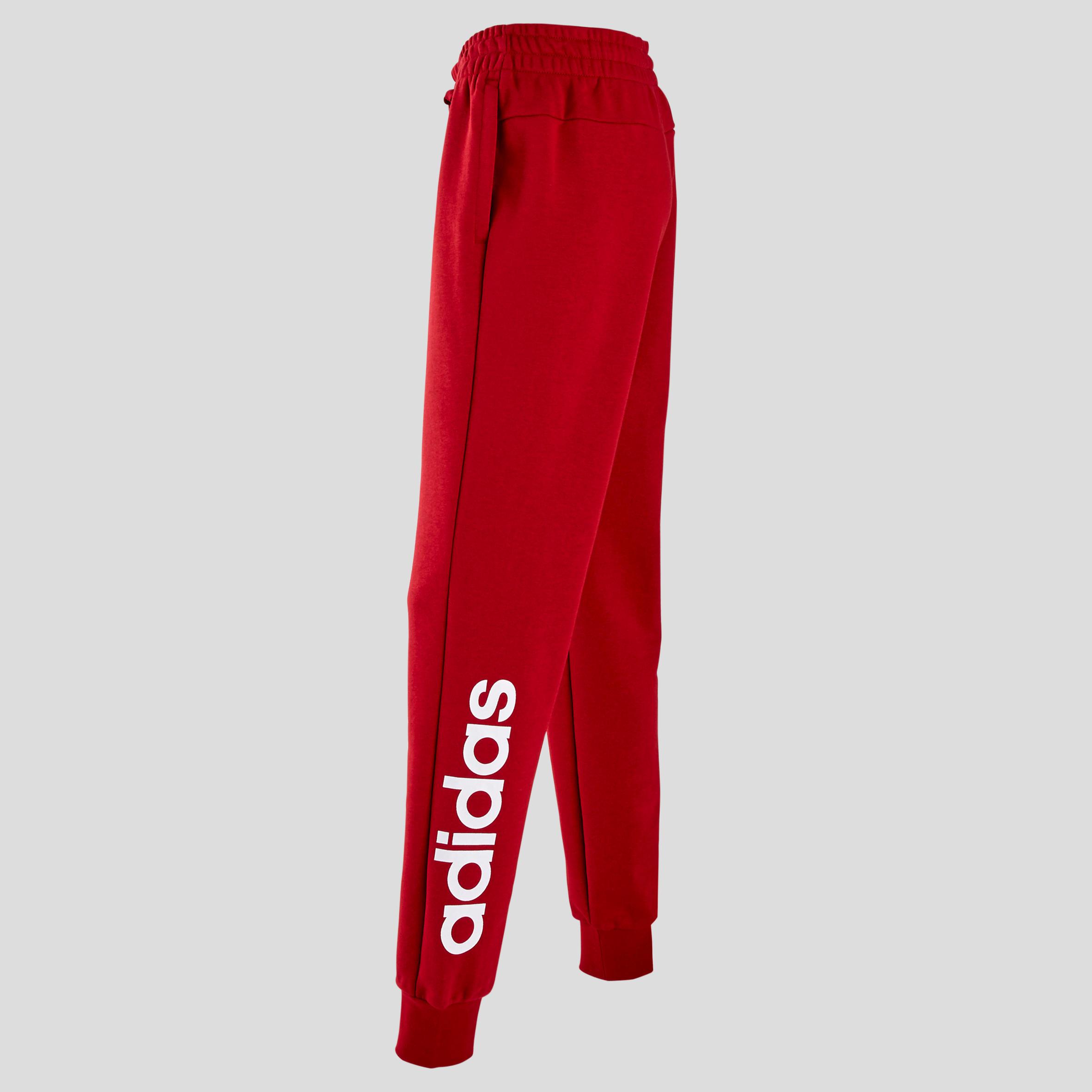 big discount many styles dirt cheap Pantalon Linear Adidas slim femme rouge