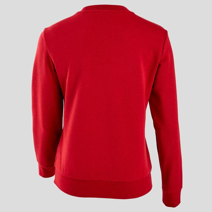 Sweat Adidas Pilates Gym douce femme rouge