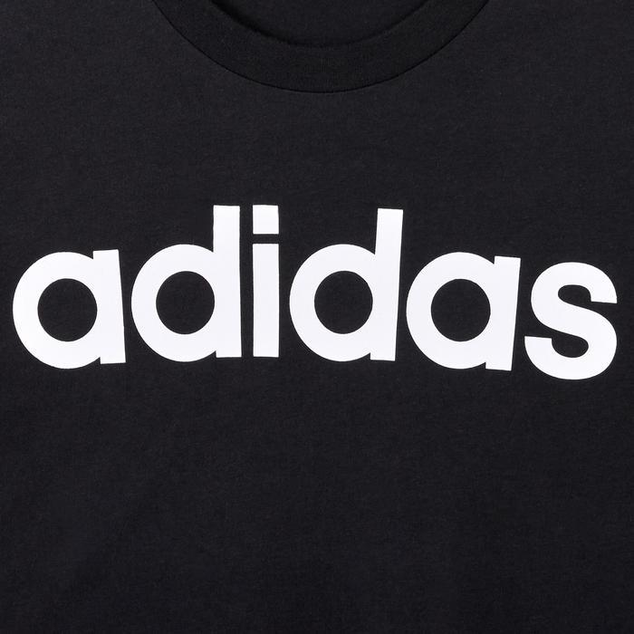 T-Shirt Slim Herren schwarz